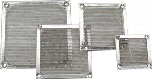 InLine Fan Grill Aluminum Filter 140x140mm (33372A) цена и информация | Аксессуары для корпусов | 220.lv