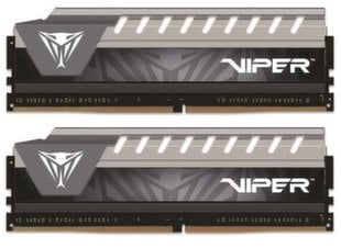 Patriot Viper ELITE DDR4, 2x8GB, 2666MHz, CL16 (PVE416G266C6KGY) cena un informācija | Patriot Viper ELITE DDR4, 2x8GB, 2666MHz, CL16 (PVE416G266C6KGY) | 220.lv