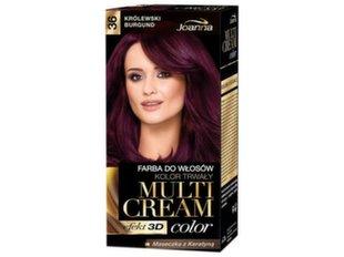 Matu krāsa Joanna Multi Cream Color 100 ml, 36 Royal Burgund
