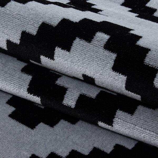 Paklājs Plus Black 8005, 80x300 cm