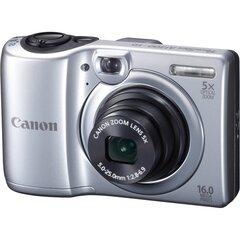 Canon PowerShot A1300, Sudraba + Dāvana fotoaparāta soma Canon DCC-850
