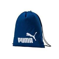 Sporta soma apģērbam Puma Phase Gym Sack, zila cena un informācija | Sporta somas un mugursomas | 220.lv