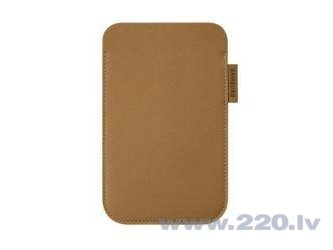 Samsung case EF-C1A2P for Galaxy S 2 brown