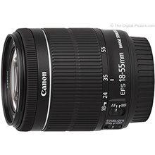 Canon EF-S 18-55mm f/4-5.6 IS STM lens cena un informācija | Objektīvi | 220.lv