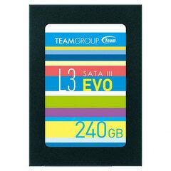 Team Group SSD L3 EVO, 2.5'', 240GB цена и информация | Компьютерные компоненты | 220.lv