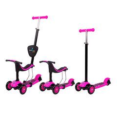 Трехколесный балансировочный велосипед-самокат Worker Tri Jaunsee, Pink