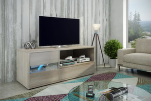 RTV galdiņš Global I, ozolkoka krāsa