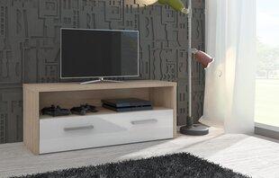 RTV столик Tirana, дуб/белого цвета