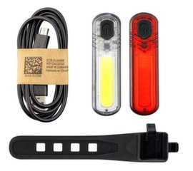Mactronic 60+18lm USB uzlādējams velosipēdu lukturu komplekts DuoSlim