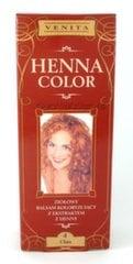 Tonējošs matu balzams Venita Henna Color 75 ml, 4 Chna