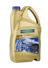 Transmisijas eļļa RAVENOL ATF +4 Fluid 4L / Chrysler / Jeep / Dodge
