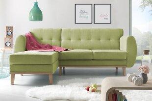 Mīksts stūra dīvāns BoboChic Viking, zaļš
