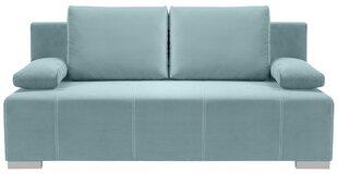 Dīvāns Street IV Lux 3DL, gaiši zils cena un informācija | Dīvāni un krēsli | 220.lv