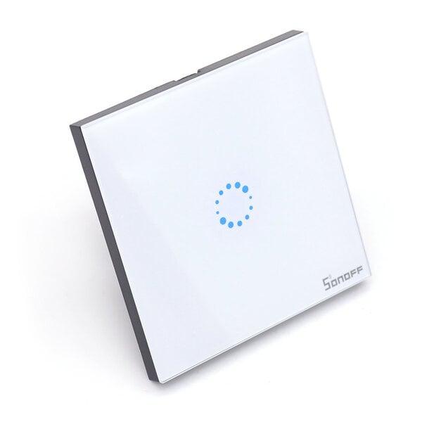 Sonoff Local Wall Touch Switch skārienjūtīgais sienas slēdzis internetā
