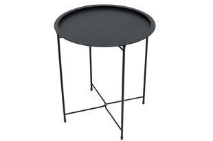 Dārza galdiņš Siesta, melns