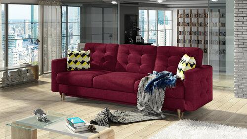 Dīvāns Asgard, sarkans