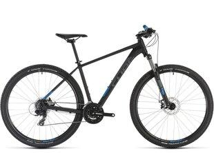 "Kalnu velosipēds Cube Aim 29"" 2019, melns/zils"