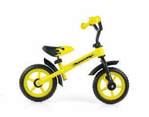 Balansa velosipēds Milly Mally Dragon, dzeltens