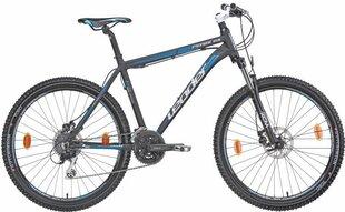 "Kalnu velosipēds Leader Mtb Fenix 26"", pelēks/zils"