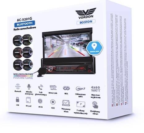 Automagnetola Vordon AC-5201G Boston
