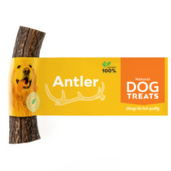 Natural Dog Treats dabisks gardums suņiem Brieža rags