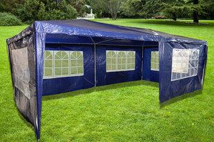 5-u sienu lapene Grand, 600x300 cm, zila
