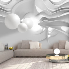 Foto tapete - White Corridors