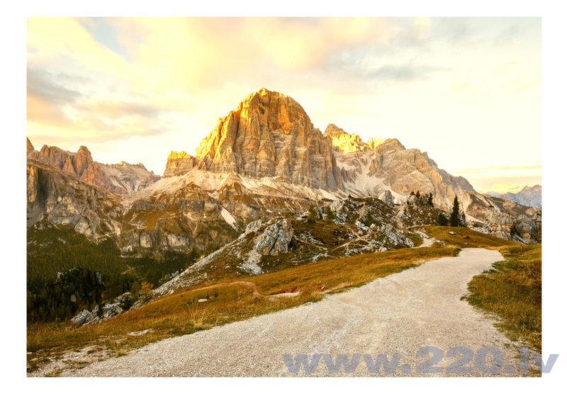 Foto tapete - Beautiful Dolomites