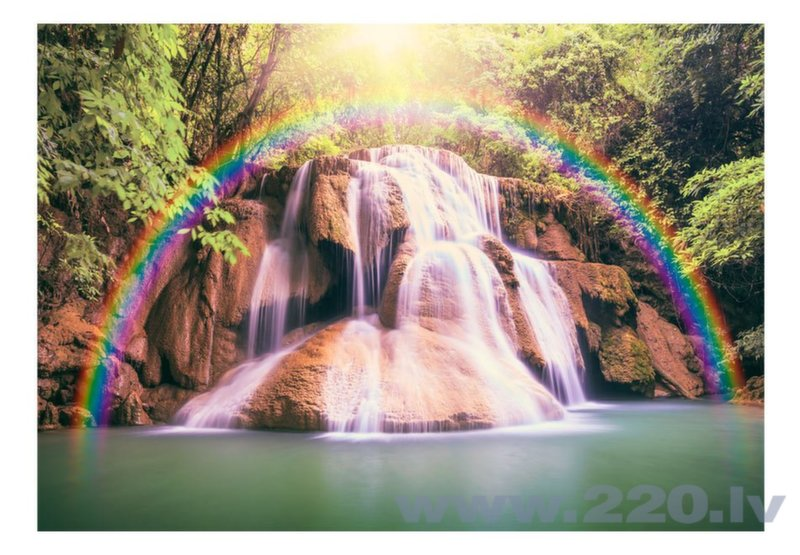 Foto tapete - Magical Waterfall