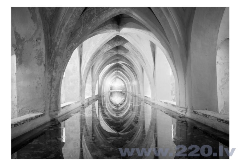 Foto tapete - Secret passage