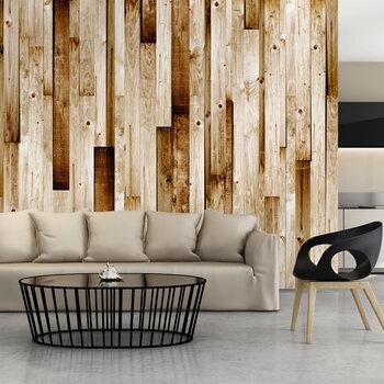 Foto tapete - Wooden boards