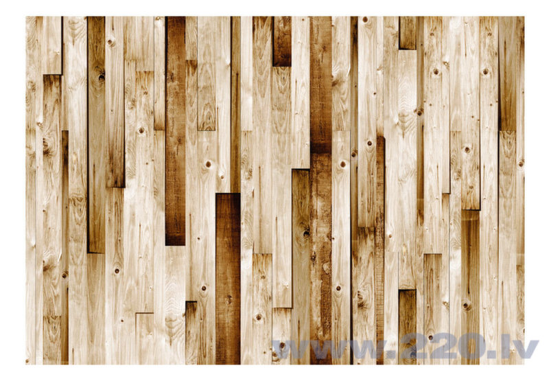Foto tapete - Wooden boards