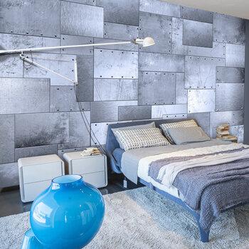 Foto tapete - Industrial mosaic