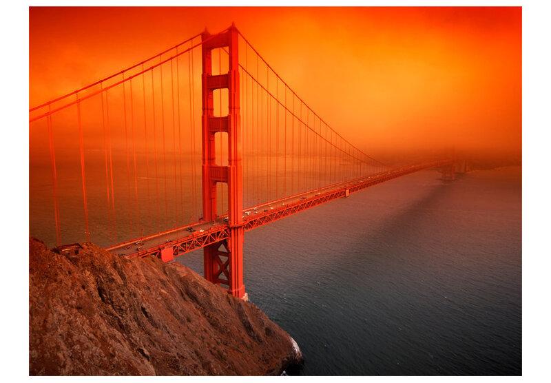 Foto tapete - Golden Gate Bridge cena