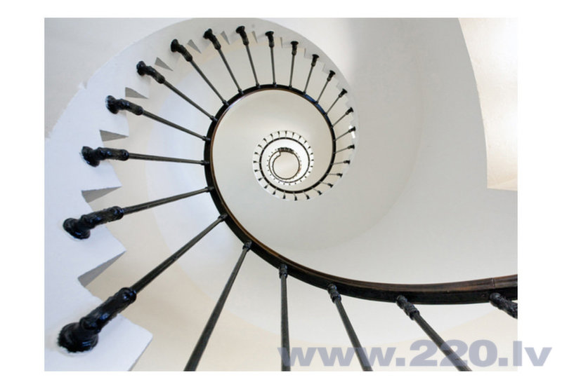 Foto tapete - stairs (lighthouse) cena