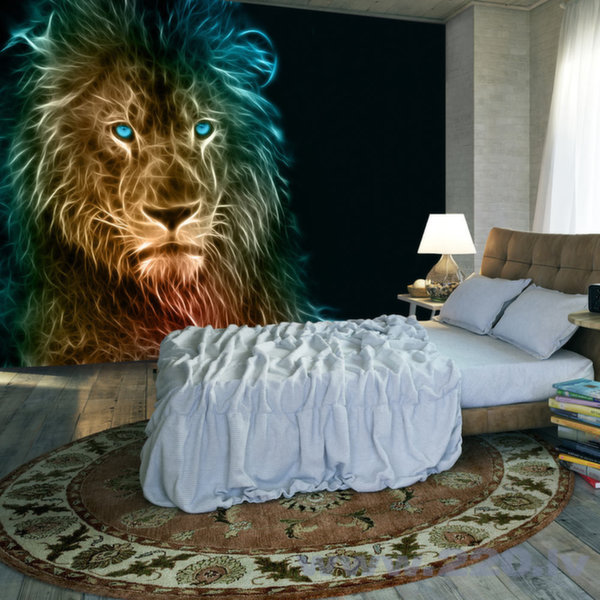Foto tapete - Abstract lion