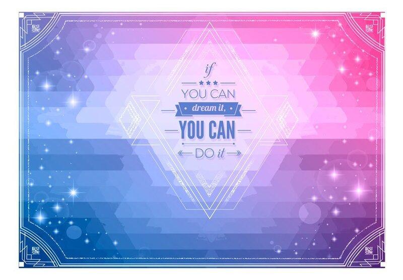 Foto tapete - If you can dream it, you can do it! atsauksme
