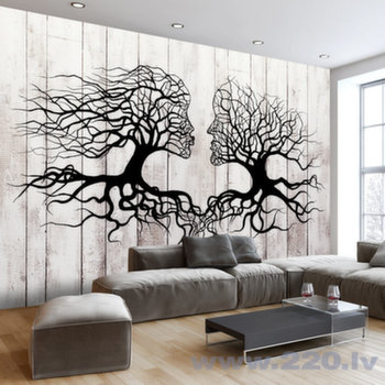 Foto tapete - A Kiss of a Trees cena un informācija | Fototapetes | 220.lv
