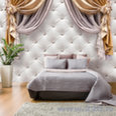 Foto tapete - Curtain of Luxury cena un informācija | Fototapetes | 220.lv