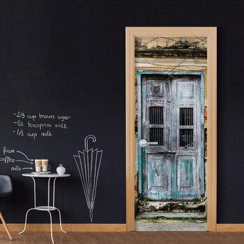 Foto tapete durvīm - Old Door cena un informācija | Fototapetes | 220.lv