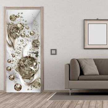 Foto tapete durvīm - Photo wallpaper - Bubble abstraction I cena un informācija | Fototapetes | 220.lv