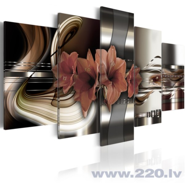 Glezna - Abstraction and Amaryllis cena un informācija | Gleznas | 220.lv