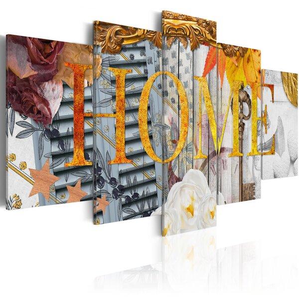 Glezna - Home (Variety) cena un informācija | Gleznas | 220.lv