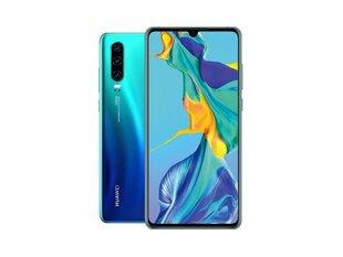 Huawei P30 Dual SIM, 128 GB, Zils (Aurora)