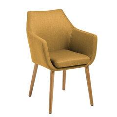 Krēsls Nora, dzeltens