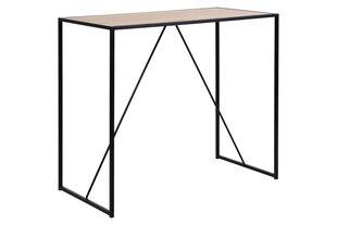 Bāra galds Seaford, ozola/melnas krāsas