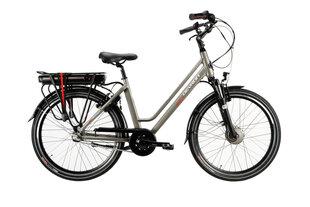 Sieviešu elektriskais velosipēds Devron 26122-460 YS-9185 26'', pelēks