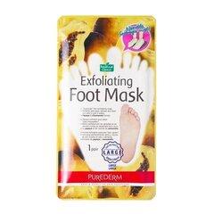 Скраб маска для ног - носки Purederm Exfoliating Large, 1 пара