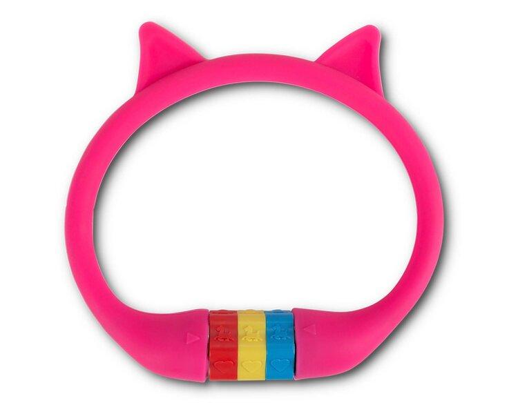 Velosipēda slēdzene RFR HPS CAT, 10x350 mm, rozā