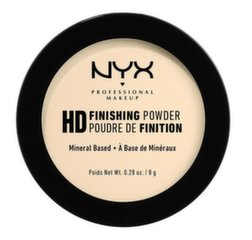 Kompaktais pūderis NYX Professional Makeup HD Finishing Powder HDFP02 Banana 8 g